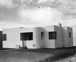 1938 | Modern Home for CV Field on South Tulane